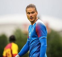 Is Rurik Gislason the best looking player in the World Cup 2018?